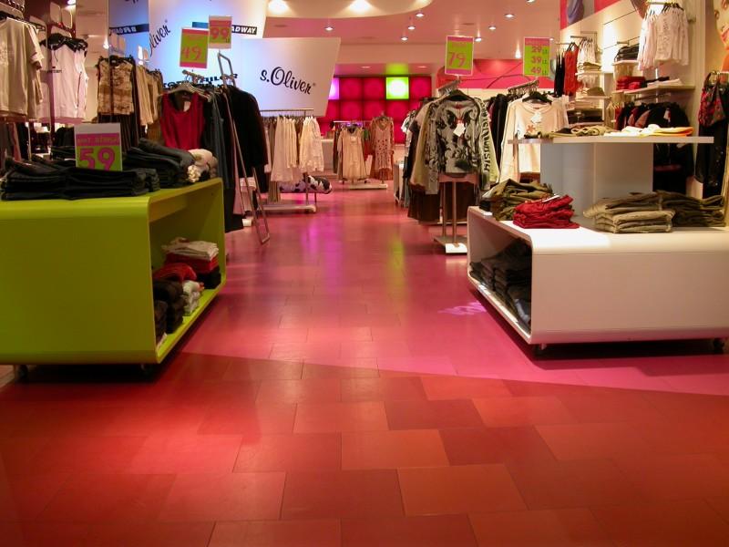 AMTICO PVC grindų danga