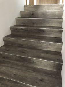 LVT laiptai