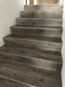 PVC ant laiptų